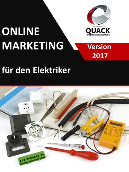Das E-Book über Online Marketing speziell für den Elektriker